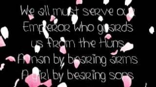 Mulan- Honor To Us All Lyrics