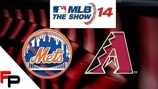 MLB 14 The Show - PS3 Gameplay - New York Mets vs.  Arizona Diamondbacks  (Quick Counts )