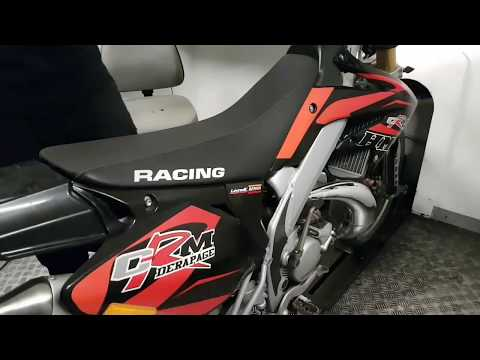 HM-Moto CRM Derapage Dyno Test