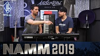 New From Yamaha! - CP88 & CP73 Key Stage Pianos - NAMM 2019