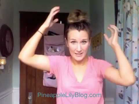 How To Create A High Messy Bun YouTube