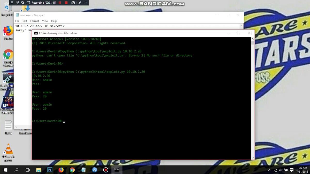 cara bobol password admin mikrotik dengan teknik exploit