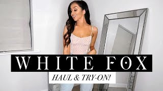 HUGE WHITE FOX BOUTIQUE TRY ON HAUL ((WITH DISCOUNT CODE!))