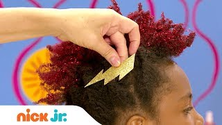 How to Create a Faux Hawk ⚡Style Files Hair Tutorial | Sunny Day | Nick Jr.