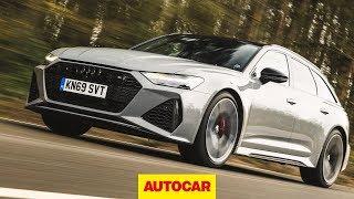 2020 Audi RS6 Avant Review | 3.3sec 0-60mph estate | Autocar