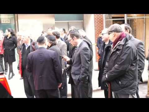 Funeral For Orthodox Jewish Victim Of NYC Crane Collapse