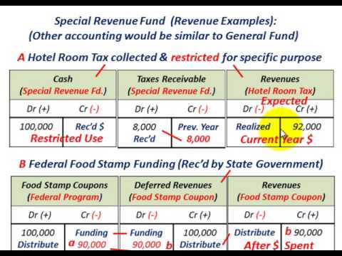 Governmental Accounting (Special Revenue Fund, Designated Funding Source For Specific Use)