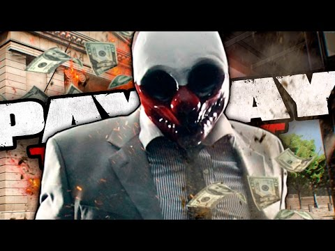 NO BANK IS SAFE - Payday: The Heist w/ TheKingNappy + Friends #1