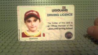 lego land driving licence