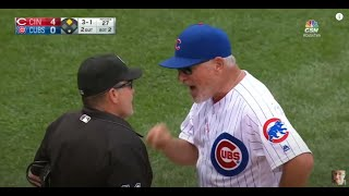 Chicago Cubs Joe Maddon (Arguments & Ejections)