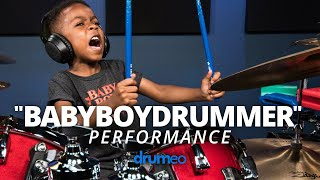 5 Year Old Drummer Plays An All-Time Classic (Earth, Wind & Fire)