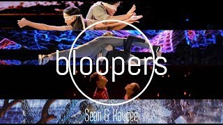 Sean & Kaycee l NBC World Of Dance: Bloopers