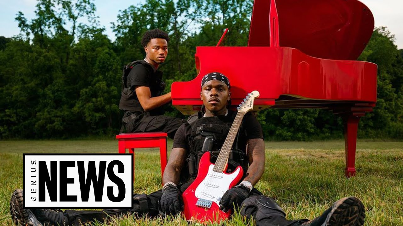 """How DaBaby & Roddy Ricch Fought Zombies In The """"ROCKSTAR"""" Music Video   Genius News"""
