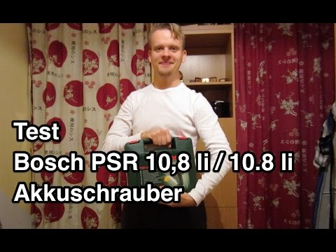 test bosch psr 10 8 li 10 8 li akkuschrauber. Black Bedroom Furniture Sets. Home Design Ideas