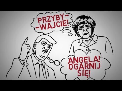 Dlaczego Niemcy przyjmują UCHODŹCÓW Dlaczego Angela Merkel ratuje świat rujnując swój kraj