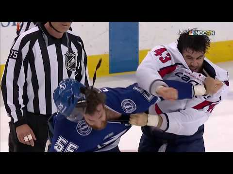 Ronnie And TKras - VIDEO: Lightning's Erik Cernak Attacked By Dirty Cap Tom Wilson