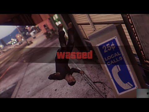 """Wasted sound mod """"You got knocked the fugg out"""""""