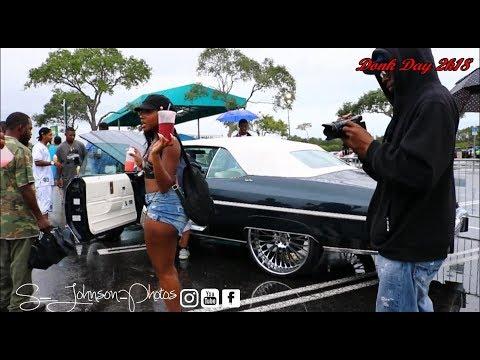 Donk Day 2k18 in HD (donks, old schools, ladies, big rims)(Miami, FL)