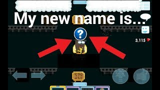 Growtopia - Changing my name to...