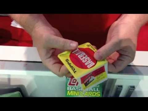 AT THE NATIONAL: Ripping a 1963 Topps baseball pack