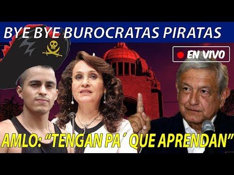 AMLO PINTA SU RAYA y despedirá a Modistas y Maquillistas del CONACYT
