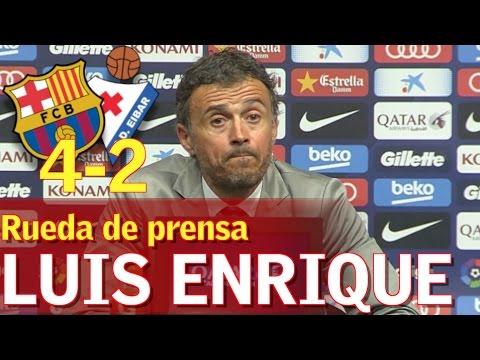 Barcelona 4-2 Eibar | Postpartido de Luis Enrique | Diario AS