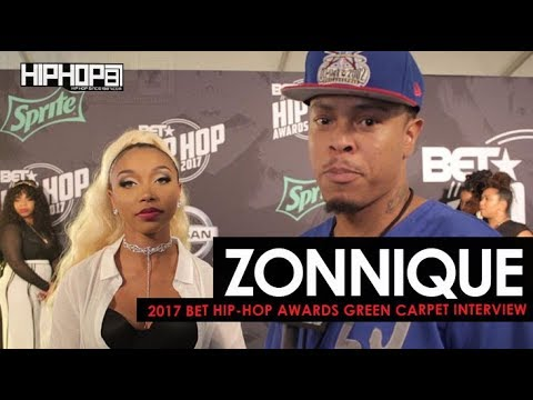 "Zonnique Talks 'Love Jones' Project, Her Video ""Patience"" & More (2017 BET Hip-Hop Awards)"