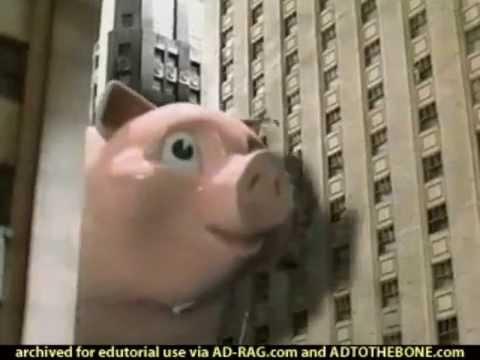 Geico Pig (2001, USA)