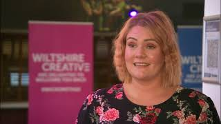 Salisbury Playhouse BBC South Report. Lourdes Fernandez Flamenco.