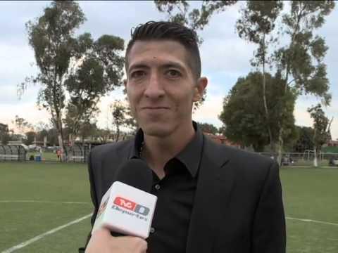 Marco Palacios continua su curso de entrenador - YouTube