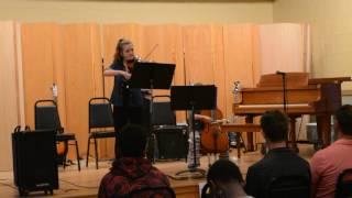 """""""Samba Del Coco"""" Miriam and Alana cello violin duet"""