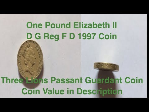 one-pound-elizabeth-ii-d-g-reg-f-d-1997-coin-||-three-lions-passant-guardant-coin|coin-value-in-desc