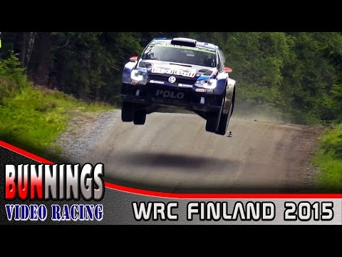 [HD] WRC Rally Finland 2015 - @BunningsVideo