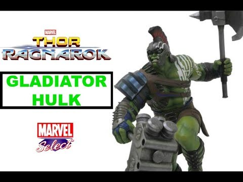 DIAMOND SELECT TOYS Marvel Gallery Thor Ragnarok Hulk PVC Vinyl Figure