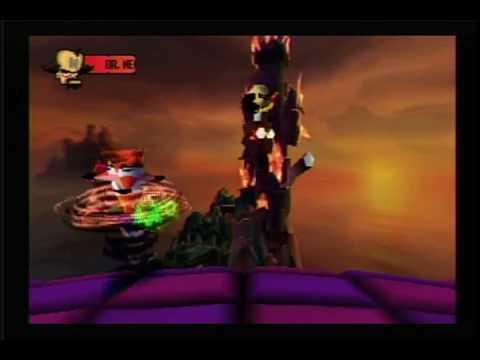 Crash Bandicoot 1: Final Boss: Dr. Neo Cortex + Ending + Credits