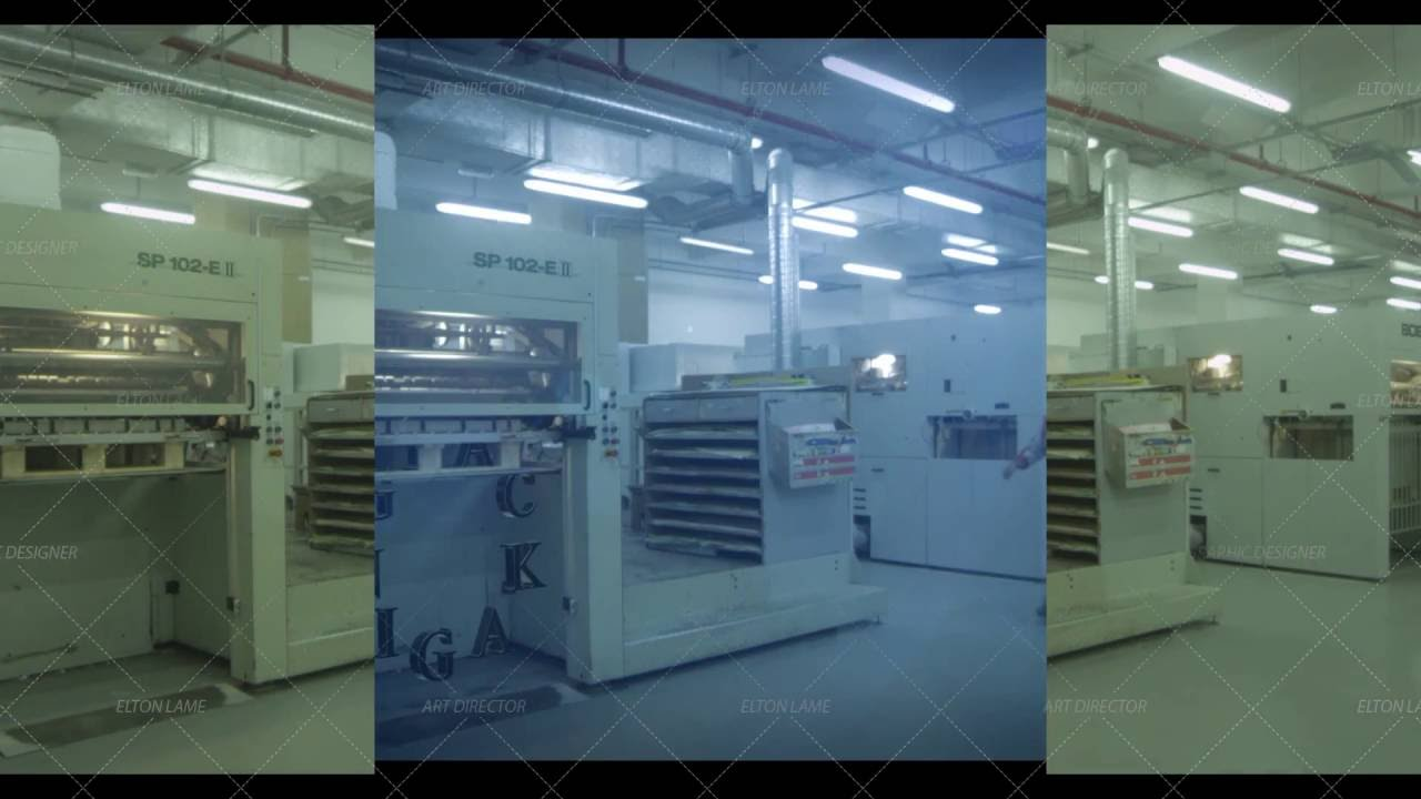 British Industries Printing and Packaging Kuwait - Packaging VFX SHOT 2014