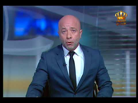 English News at Ten on Jordan Television 09-10-2017