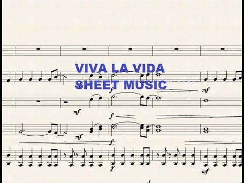 Viva La Vida For Small Ensemble (sheet Music)