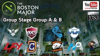 The Boston Major 2016: Group Stage A & B - 3 Dec. 2016