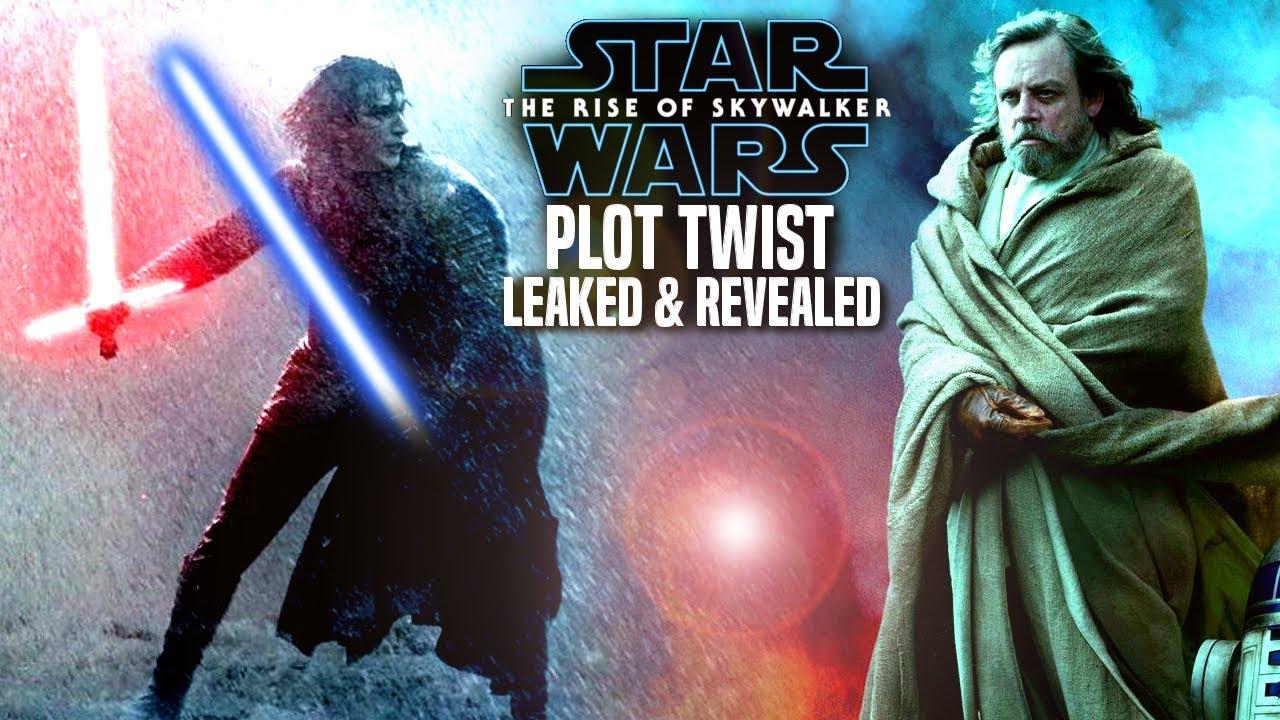 The Rise Of Skywalker Plot Twist Leaked & More! (Star Wars Episode 9)