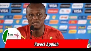 Kwesi Appiah's 29-Man Squad For AFCON 2019