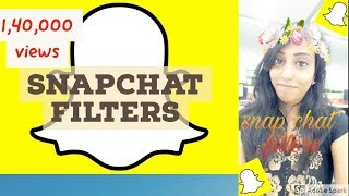 How to use snapchat text,stories and filters - In Brief | tutorial 2017
