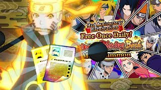 INSANE LUCK! FREE BLAZING BASH MULTI#1 (3rd Anniversary) Naruto Ultimate Ninja Blazing