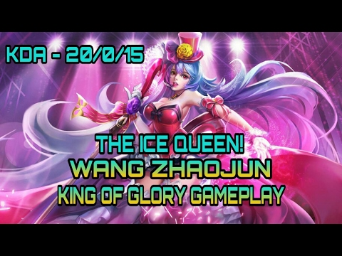 King of Glory: The Ice Queen Support! Wang Zhaojun Gameplay!