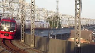 JR東日本253系1000番台東武日光線新栃木駅到着
