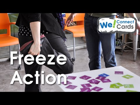 Innovative Activity to Show Leadership w/ We! Connect Cards