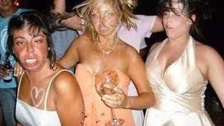 Пьяные бабы-что может быть смешнее!!!!Лучшие приколы 2016