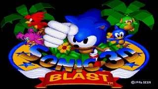 Соник 3д Бласт на Сега - Sonic 3D Blast Sega