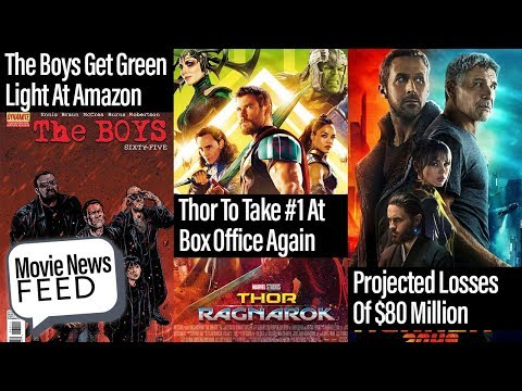 Movie News Feed - THOR Projected To Take Box Office Again, Blade Runner Losses At $80M