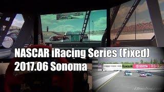 NiS NASCAR iRacing Series Sonoma Sim on-board thumbnail